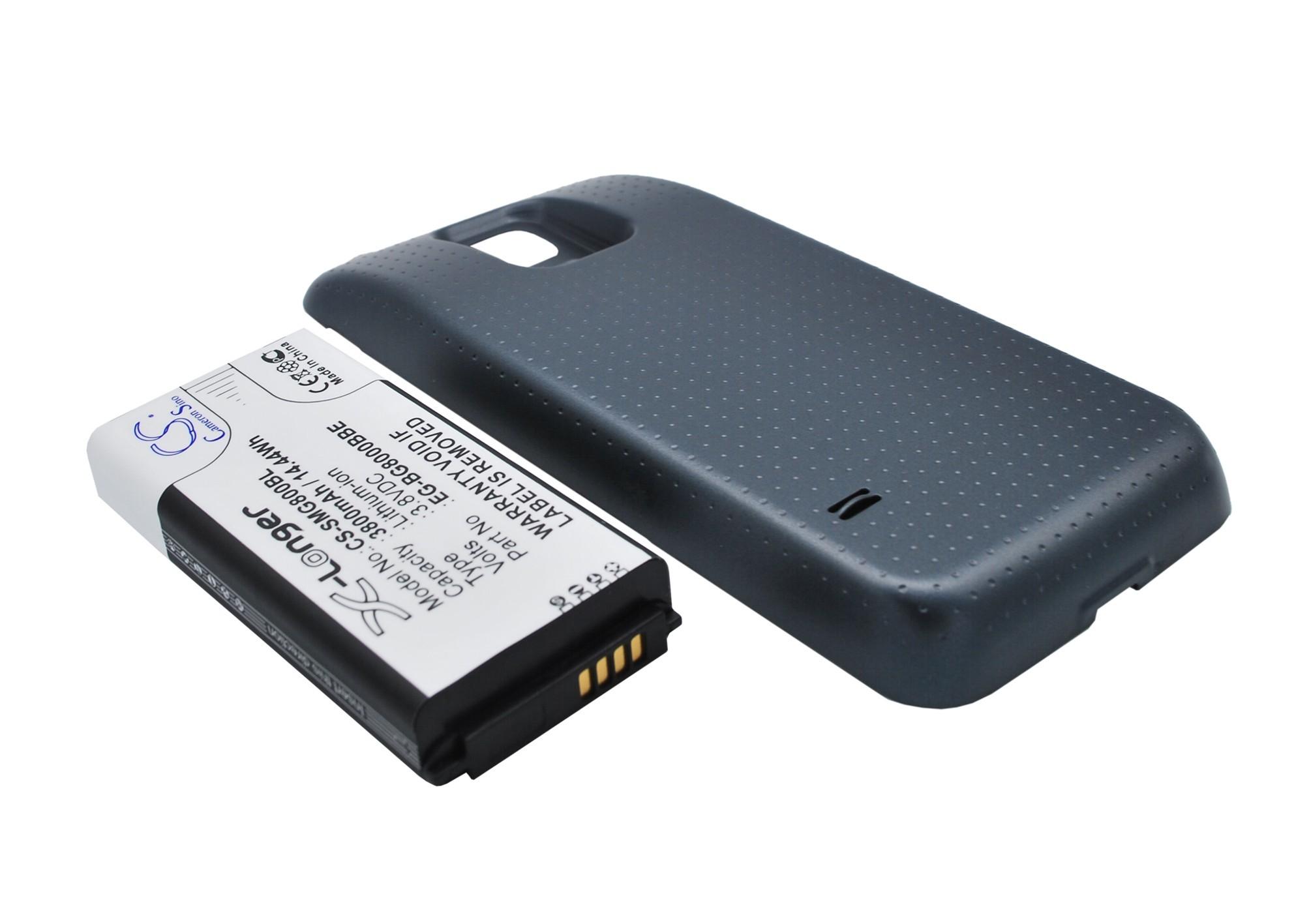 Аккумулятор для для Samsung Galaxy S5 mini 3800mah CS черный CameronSino