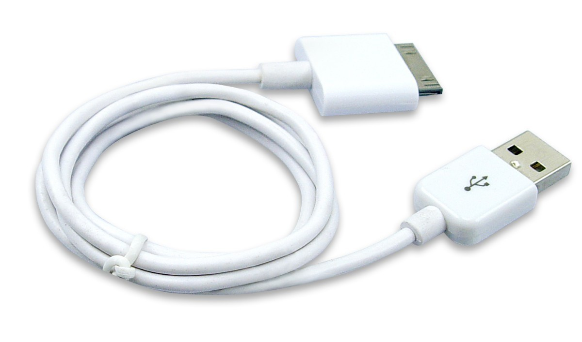 Кабель USB для Apple iPhone 2G, 3G, 3Gs, 4, 4S, iPad 2, 3, iPod Touch, Video, Classic