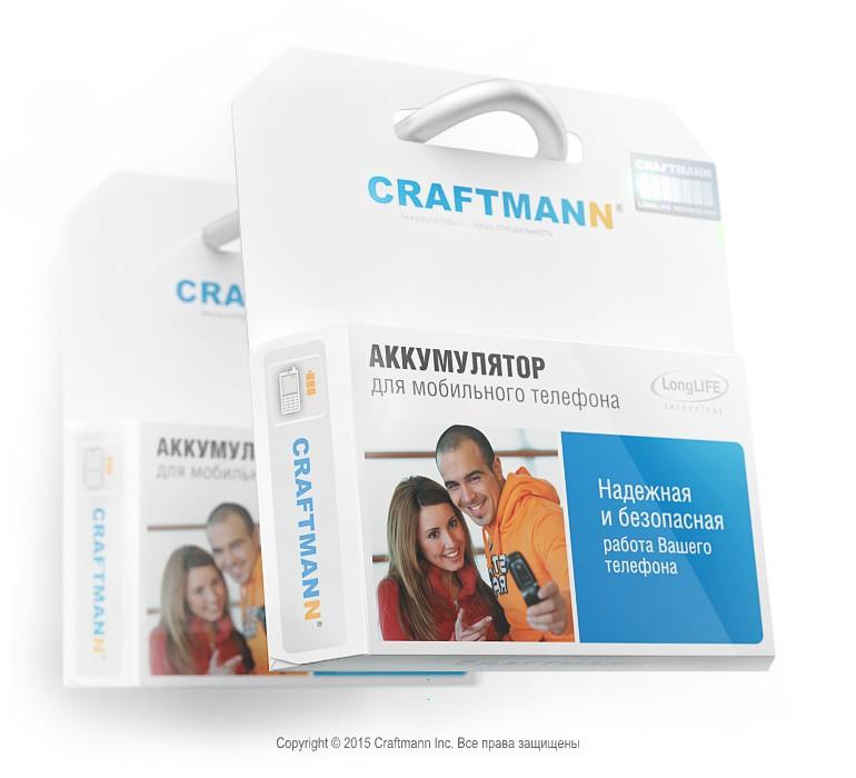 Аккумулятор Craftmann для Nokia 700 800mah Craftmann