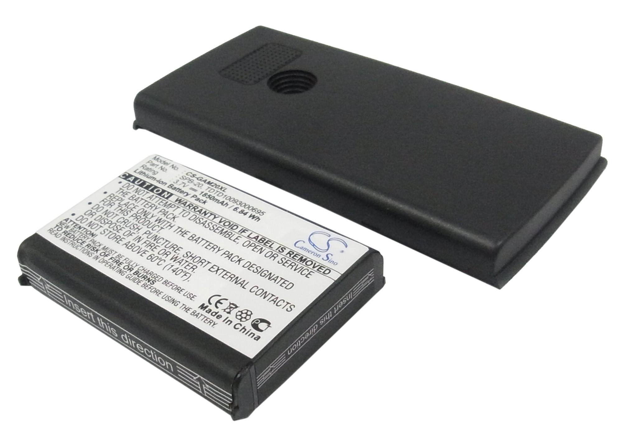 Аккумулятор для Asus Garmin M20 1850mah черный CameronSino
