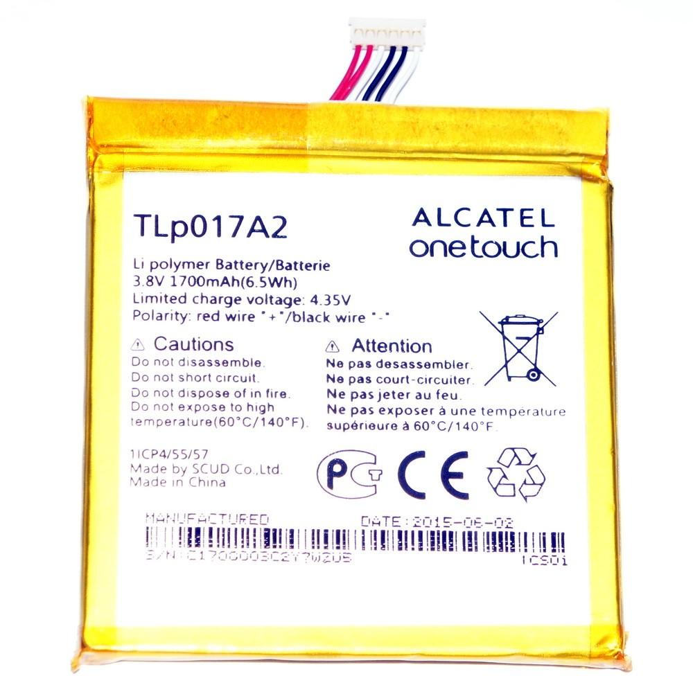 Аккумулятор Alcatel One Touch Idol Mini OT-6012 1700mah