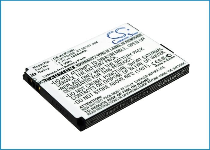 Аккумулятор для Acer E200 1050mah CameronSino