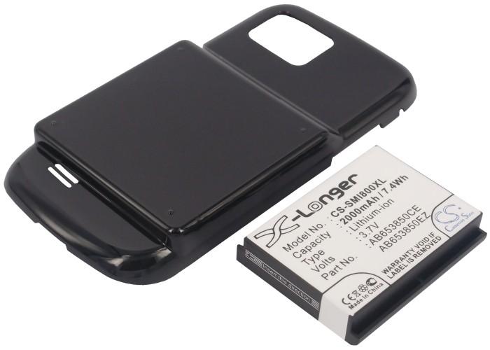 Аккумулятор для Samsung i8000 2000mah CS CameronSino