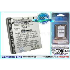 аккумулятор Samsung/Pentax CS-NP40FU