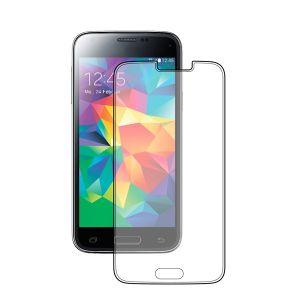 Защитное стекло Samsung Galaxy S5 mini, 0.33 мм, прозрачное, Deppa