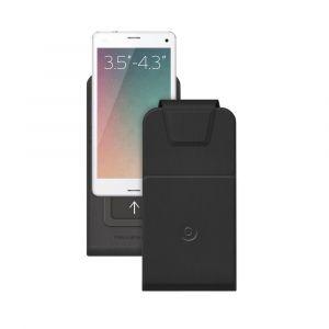 Чехол для смартфонов Flip Side S 3.5-4.3 Deppa черный
