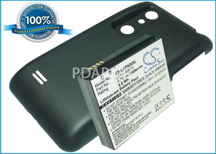 Аккумулятор для LG Optimus 3D P920 2600mah CS усиленный черный CameronSino