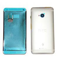 Корпус HTC One M7 серебристый