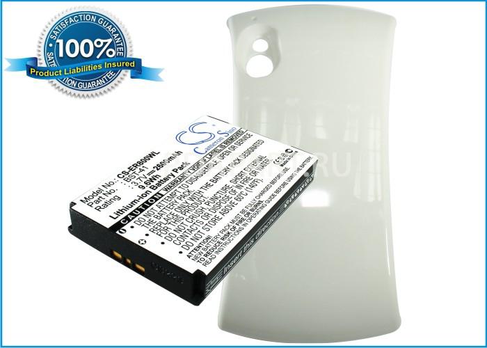 Аккумулятор для Sony Ericsson Play 2600mah CS белый CameronSino
