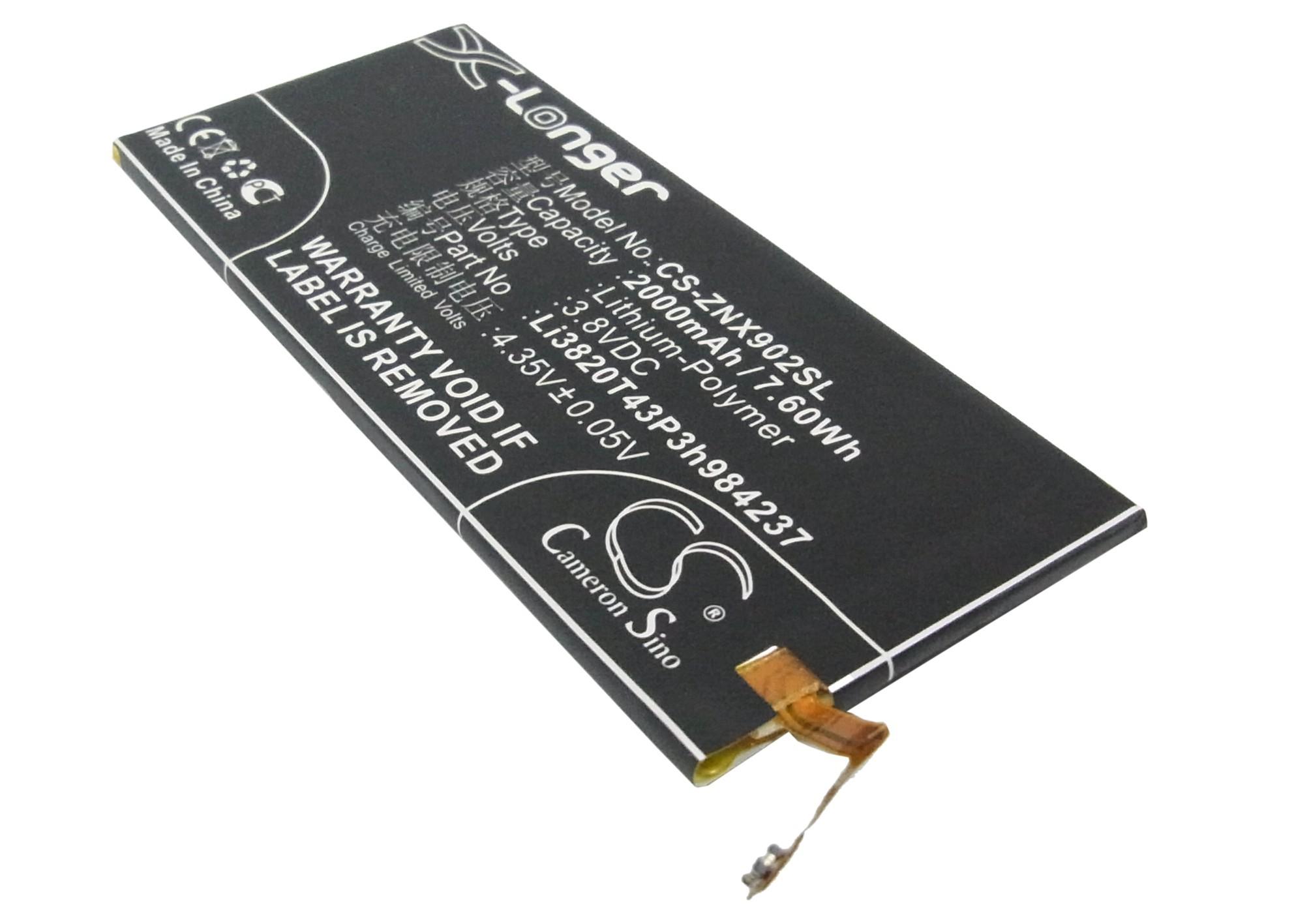 Аккумулятор для ZTE Nubia Z5S mini 2000mah CS CameronSino