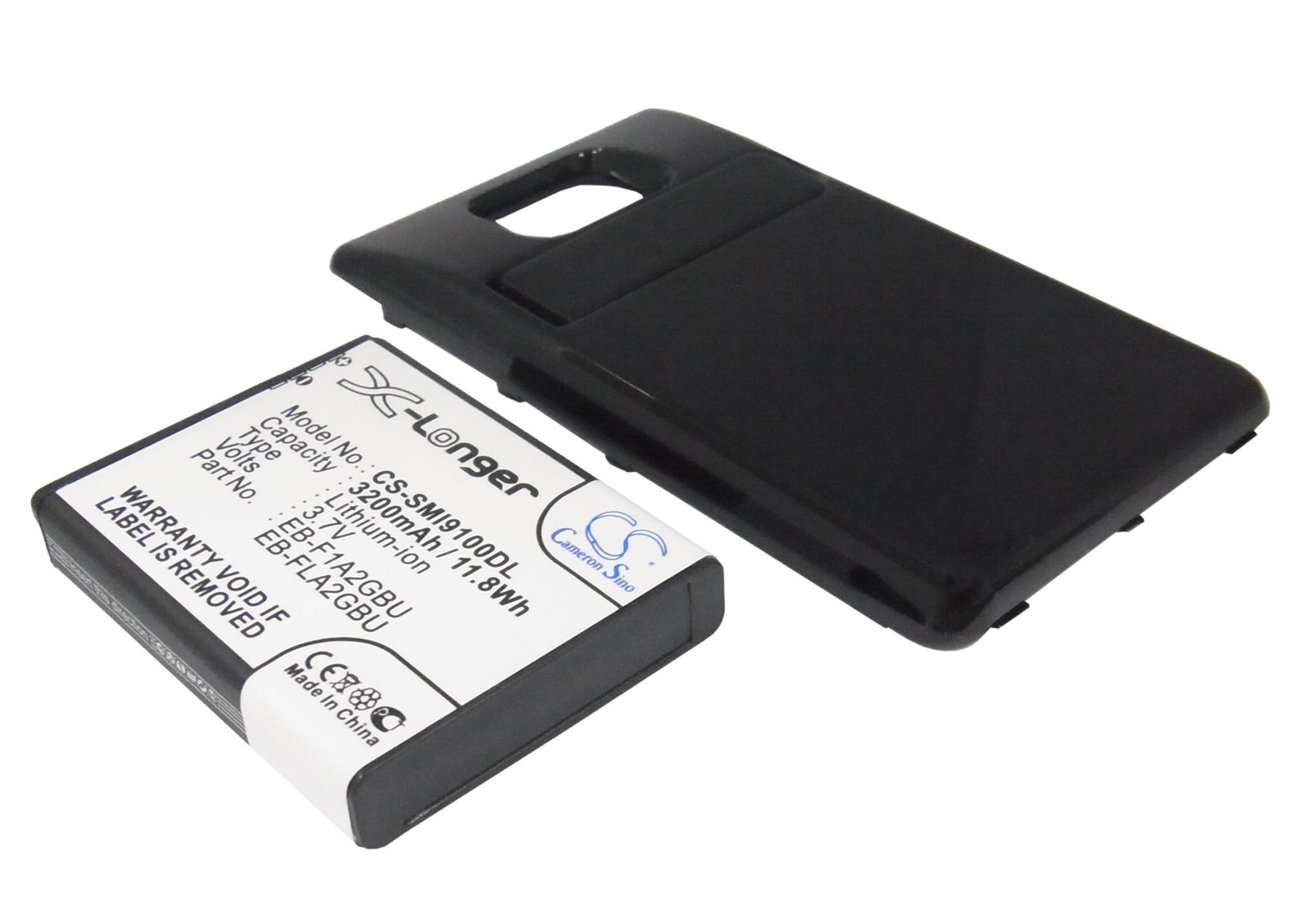 Аккумулятор для Samsung Galaxy S2 i9100 3200mah черный CameronSino