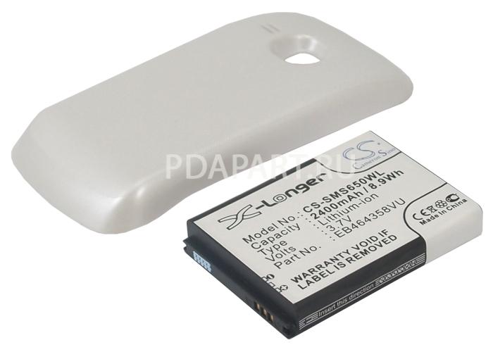 Аккумулятор для Samsung Galaxy Mini 2 2400mah белый CameronSino