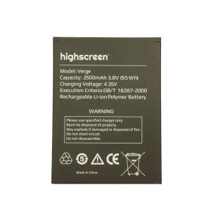 Аккумулятор Highscreen Verge 2500mah