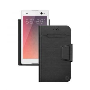 """Чехол для смартфонов 5.5""""-6.5"""" Wallet Fold L Deppa черный"""