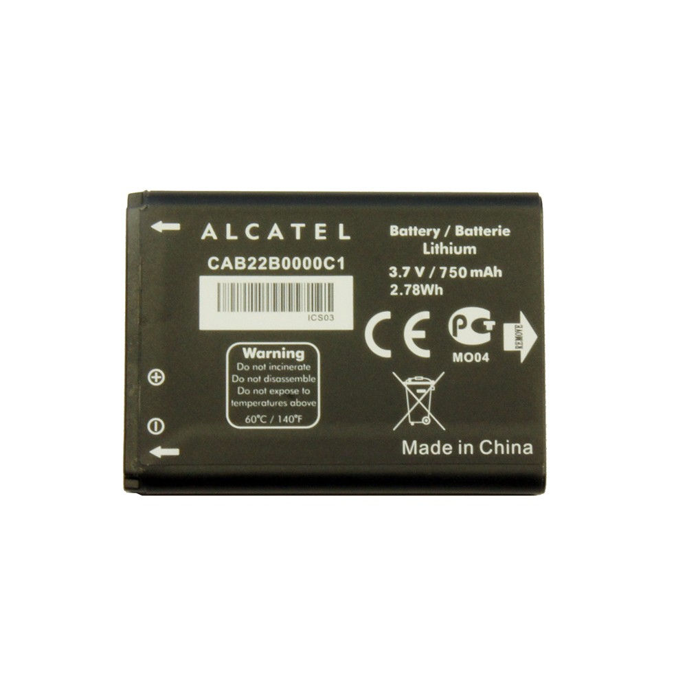 Аккумулятор Alcatel OneTouch 2010, 506, 665, 668 750mah