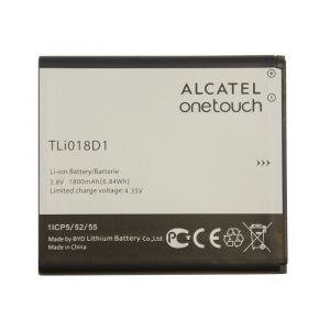 Аккумулятор Alcatel One Touch 5015X, 5015D, 5038D 1800mah