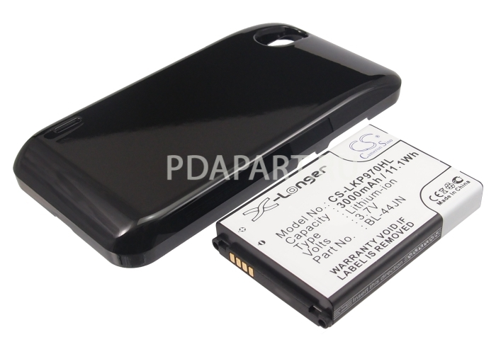 Аккумулятор для LG Optimus Black P970 3000mah CS усиленный черный CameronSino