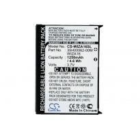 Аккумулятор Qtek 9100, HTC P3400 1250mah CS