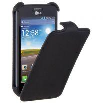 Чехол LG Optimus L4 II Dual E445 - iBox Premium черный