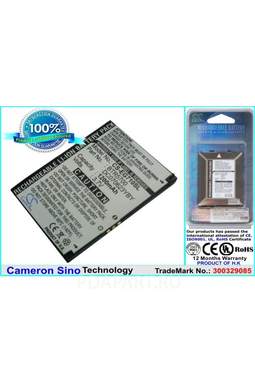 Аккумулятор для Toshiba G710 1200мАч CS-EG710SL CameronSino