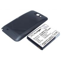 Аккумулятор Samsung Galaxy Note 2 N7100 6200mah усиленный серый