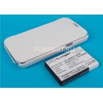 аккумулятор Samsung Galaxy Note 2 N7100 6200mah CS-SMN710DW белый чехол книжка