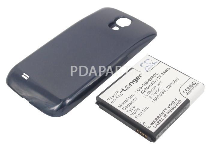 Аккумулятор для Samsung Galaxy S4 i9500 5200mah синий CameronSino