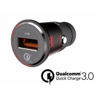 Автозарядка QuickCharge 3.0 USB LDNIO
