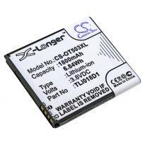 Аккумулятор Alcatel One Touch 5015X, 5015D, 5038D 1800mah CS