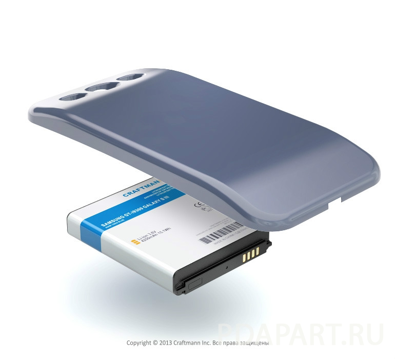 Аккумулятор Craftmann для Samsung Galaxy S3 i9300 4200mah Craftmann синий