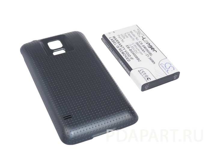 Аккумулятор для Samsung Galaxy S5 SM-G900 5600mah черный CameronSino
