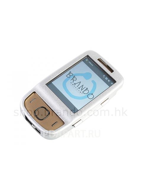 Чехол металлический для HTC Touch 3G Brando (серебристый)