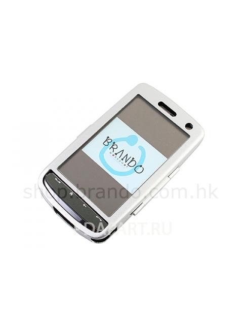 Чехол металлический HTC Touch HD Brando серебро