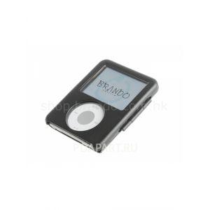 чехол металлический Apple iPod 3G черный