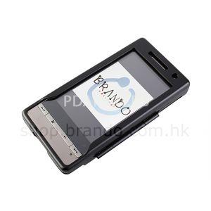 чехол металлический HTC Touch Diamond 2 Brando черный (без стекла)