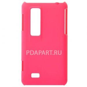 чехол LG P920 TPU Soft plastic розовый