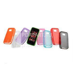 чехол защитный Nokia 5530 Diamond Rugged Hard Plastic Case оранжевый