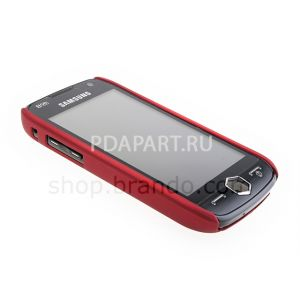 чехол защитный Samsung i8000 Omnia II Rubberized Back Hard Case черный