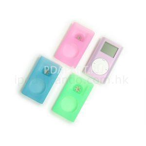 чехол Apple ipod mini голубой