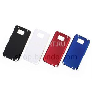 чехол защитный Nokia 5530 Rubberized Back Hard Case красный