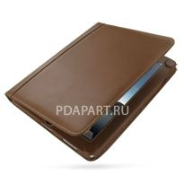 чехол PDair для Apple iPad Book коричневый магнитная застежка