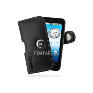 чехол PDair для Acer Neo Touch P400/beTouch E400 горизонтальная кобура с клипсой (черный)