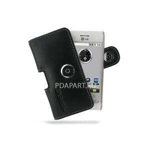 чехол PDair для LG Optimus GT540 горизонтальная кобура черная