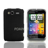 чехол Защитный HTC Wildfire S Perforated черный