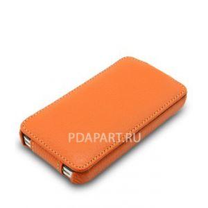 чехол Samsung Galaxy S3 i9300 - Melkco Jacka Type оранжевый