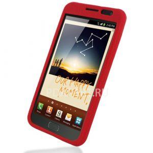 чехол Samsung Galaxy Note PDair Luxury красный