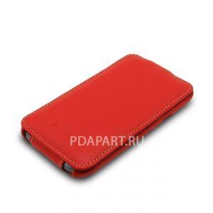 чехол Samsung Galaxy ACE Duos S6802 - Melkco Jacka Type красный