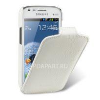 Чехол Samsung Galaxy S Duos S7562 - Melkco Jacka Type белый