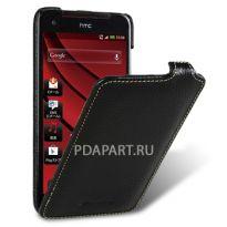 чехол HTC J Butterfly - Melkco Jacka Type черный