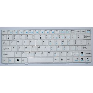 клавиатура Asus EEE PC 900HA, S101, T91 белая английская